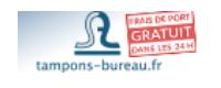 Tampons-bureau Bon